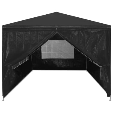vidaXL festtelt 3 x 6 m antracitgrå[3/8]