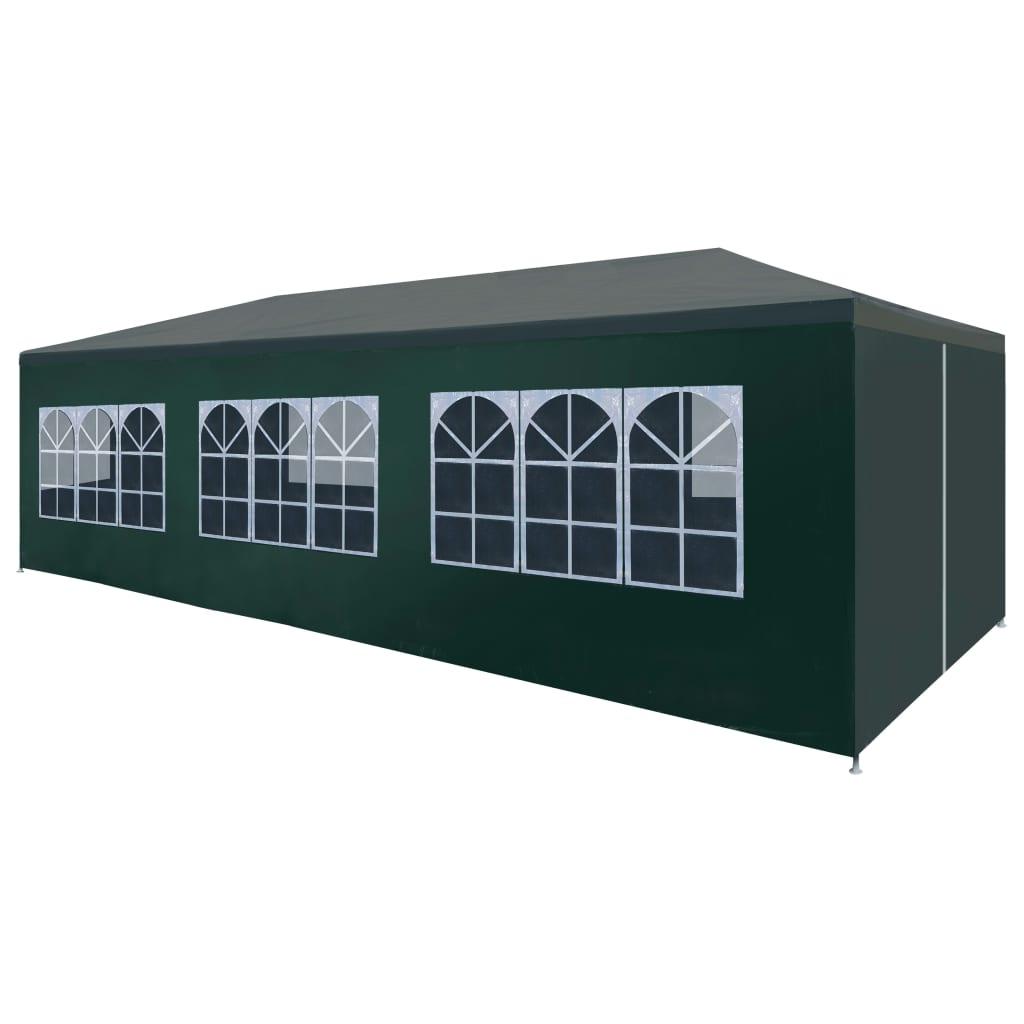 vidaXL Τέντα Εκδηλώσεων Πράσινη 3 x 9 μ.