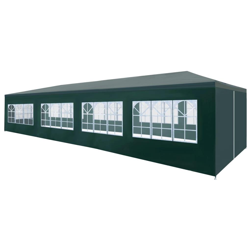 vidaXL Τέντα Εκδηλώσεων Πράσινη 3 x 12 μ.