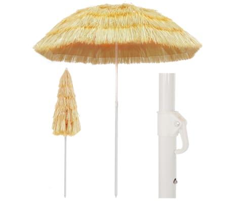 "vidaXL Beach Umbrella Natural 70.9"" Hawaii Style"
