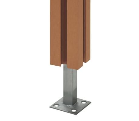 vidaXL Fence Posts 2 pcs WPC 185 cm[6/17]