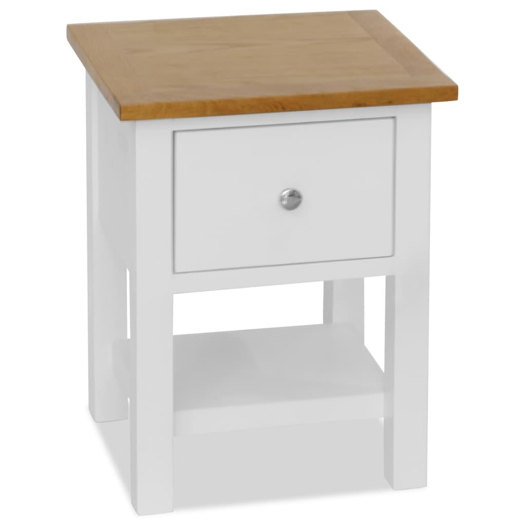 vidaXL Noční stolek 36 x 30 x 47 cm masivní dubové dřevo