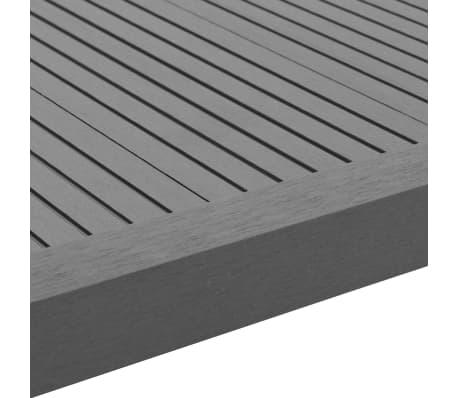 vidaXL Kampiniai grin. dang. WPC apvadai, 5vnt., 170cm, pilkos sp.[6/8]