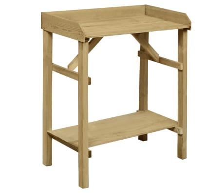 vidaXL Istutuspöytä kyllästetty mänty 75x40x90 cm