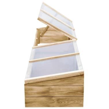 vidaXL Kas 200x50x35 cm geïmpregneerd grenenhout[5/6]
