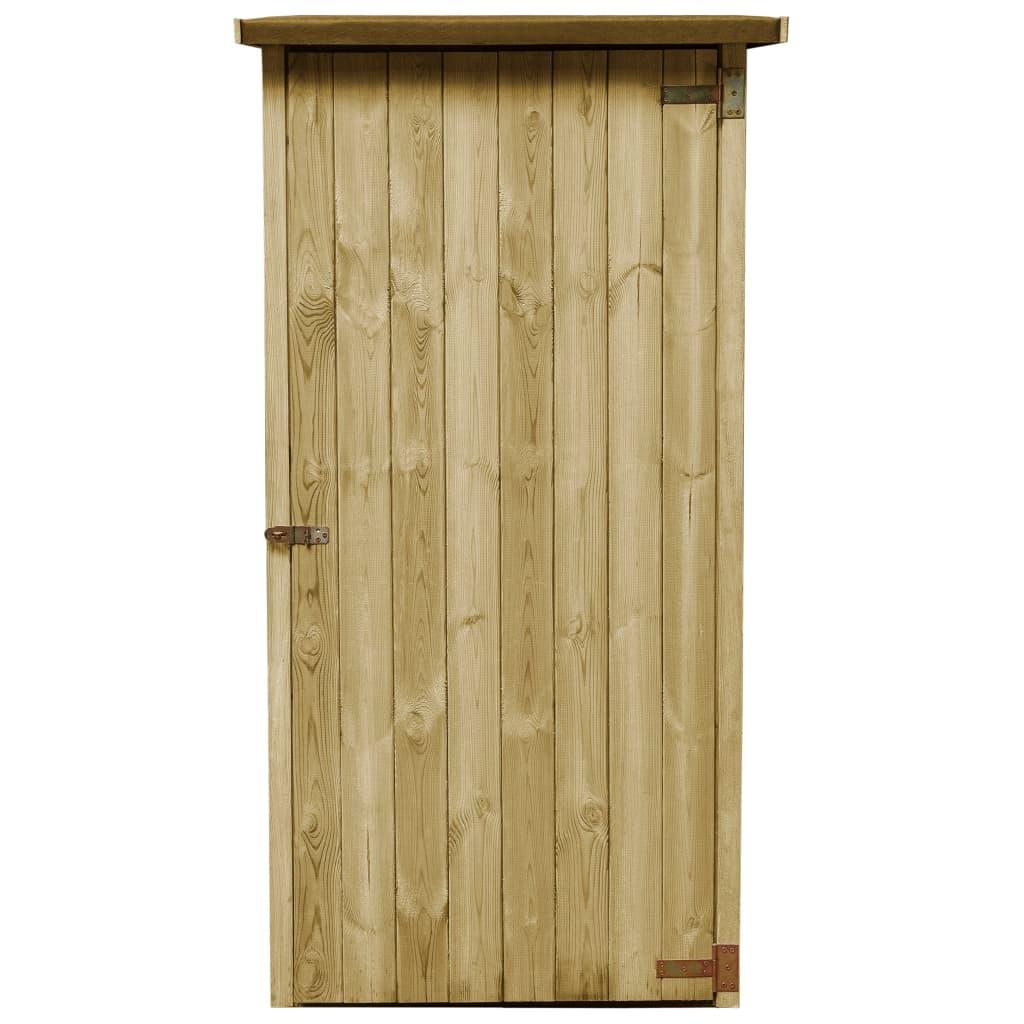 vidaXL Tuinschuurtje 88x76x175 cm FSC geimpregneerd grenenhout
