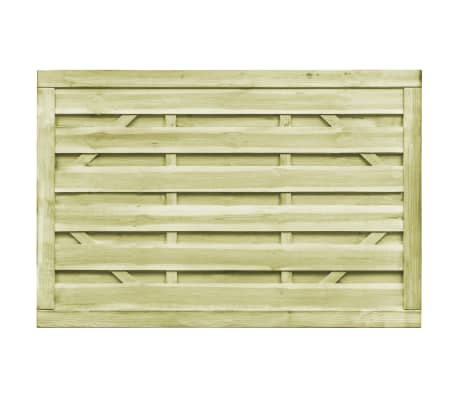 vidaXL Puutarhaportit 2kpl FSC kyllästetty mänty 150x100 cm vihreä[4/7]