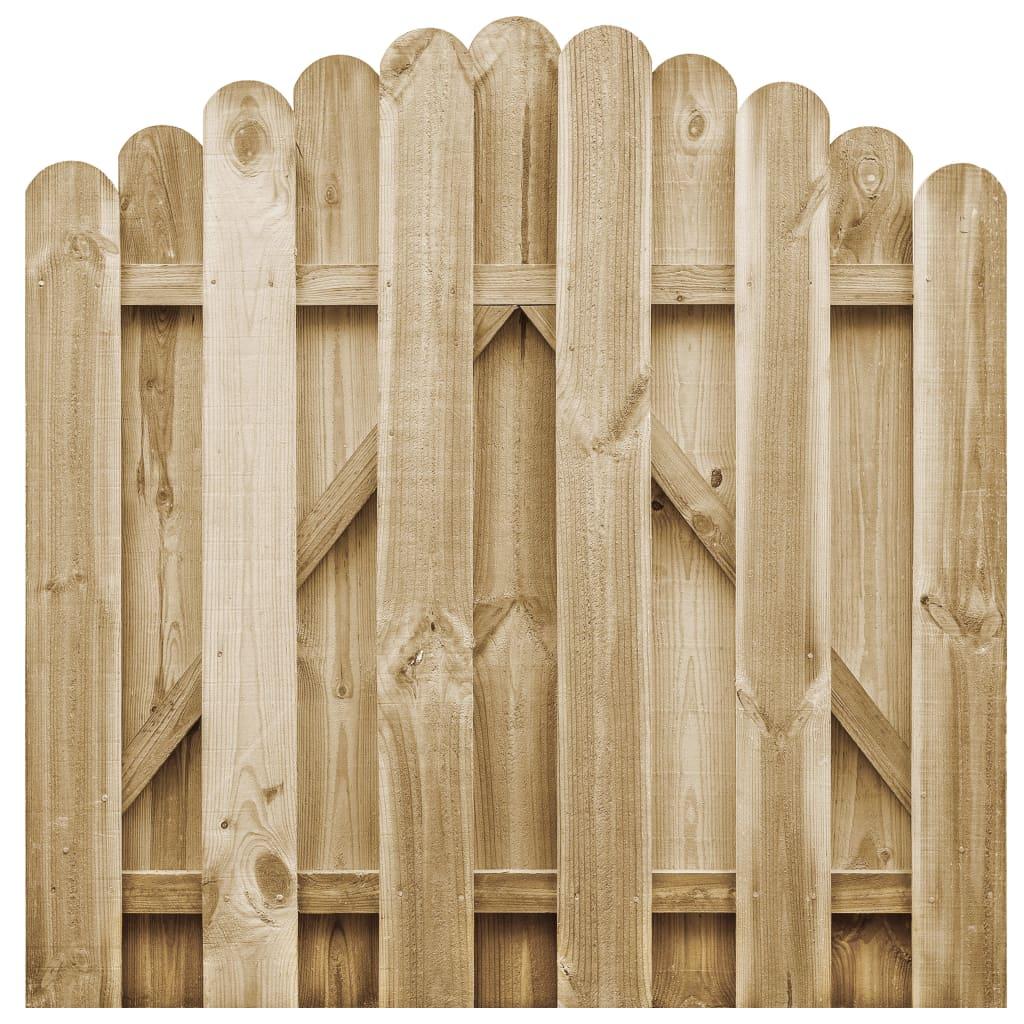 Zahradní branka impregnovaná borovice 100 x 100 cm