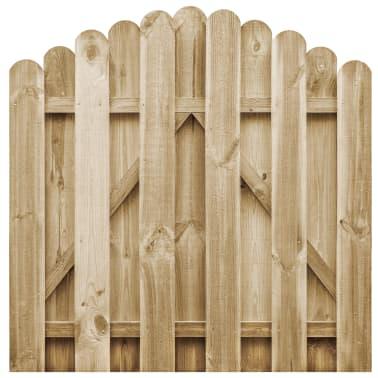 vidaXL Záhradná bránka, FSC impregnovaná borovica 100x100 cm[1/4]