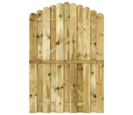 vidaXL Vrtna vrata od impregnirane borovine 100 x 150 cm