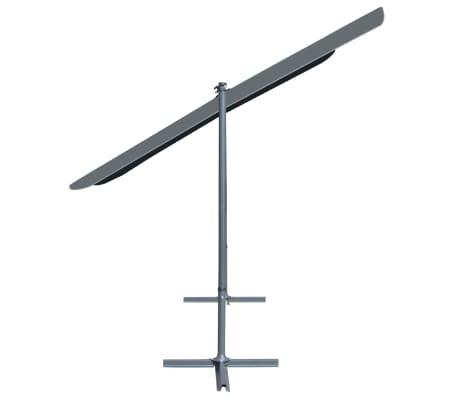 vidaXL Gazebo con Tetto Retrattile Inclinabile 350x250x225cm Antracite[3/7]