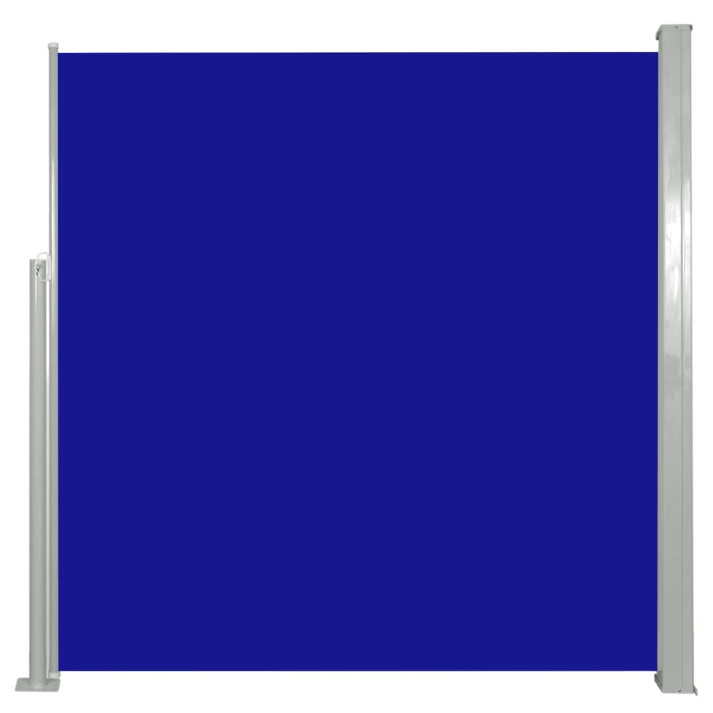 vidaXL Σκίαστρο Πλαϊνό Συρόμενο Μπλε 140 x 300 εκ.