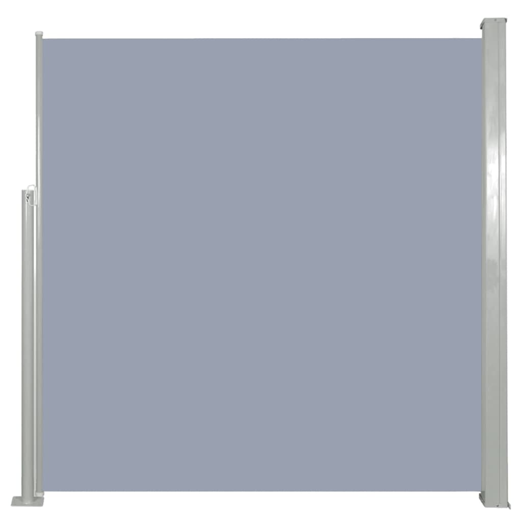 vidaXL Σκίαστρο Πλαϊνό Συρόμενο Γκρι 140 x 300 εκ.