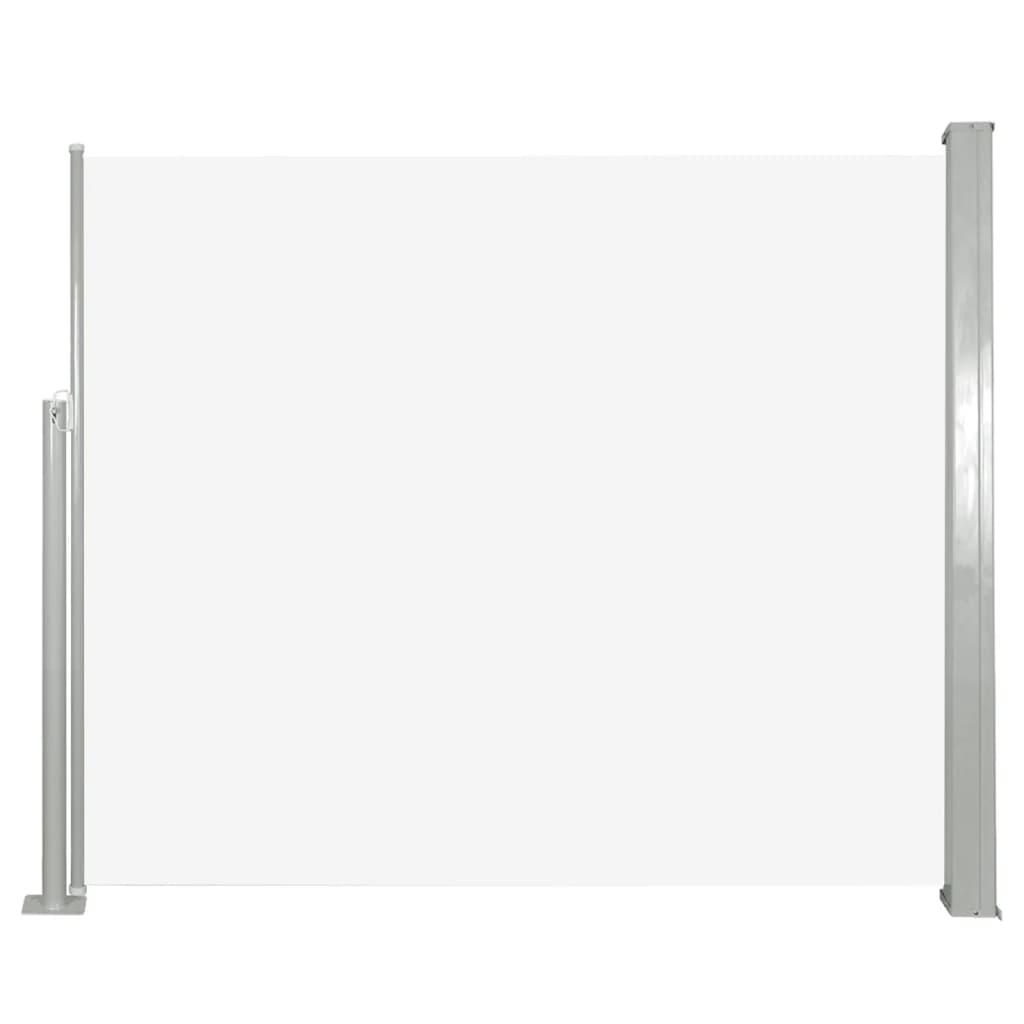 vidaXL Σκίαστρο Πλαϊνό Συρόμενο Κρεμ 120 x 300 εκ.