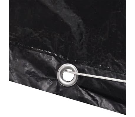vidaXL havemøbelovertræk 8 snørehuller 242 x 162 x 100 cm[5/7]