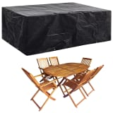 vidaXL Garden Furniture Cover 8 Eyelets 242x162x100 cm