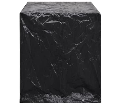 vidaXL Sodo baldų/teniso stalo uždangalas, 160x55x182cm, 8 kilputės[3/7]