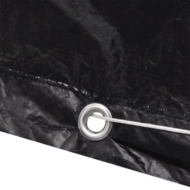 vidaXL Sodo baldų/teniso stalo uždangalas, 160x55x182cm, 8 kilputės[5/7]