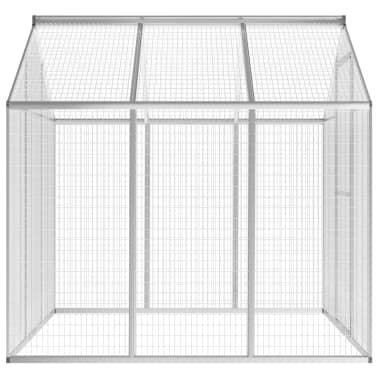 vidaXL Pajarera de exterior de aluminio 183x178x194 cm[3/8]