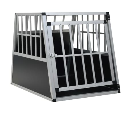 "vidaXL Dog Cage with Single Door 25.6""x35.8""x27.4"""