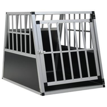 "vidaXL Dog Cage with Single Door 25.6""x35.8""x27.4""[1/11]"