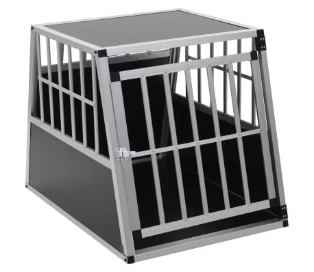 "vidaXL Dog Cage with Single Door 25.6""x35.8""x27.4""[2/11]"