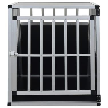 "vidaXL Dog Cage with Single Door 25.6""x35.8""x27.4""[3/11]"