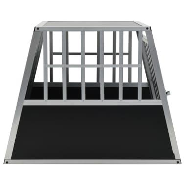 "vidaXL Dog Cage with Single Door 25.6""x35.8""x27.4""[4/11]"