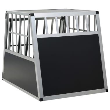 "vidaXL Dog Cage with Single Door 25.6""x35.8""x27.4""[5/11]"