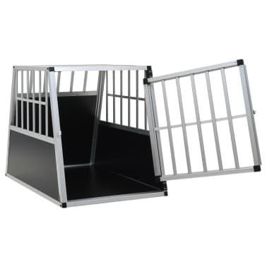 "vidaXL Dog Cage with Single Door 25.6""x35.8""x27.4""[6/11]"