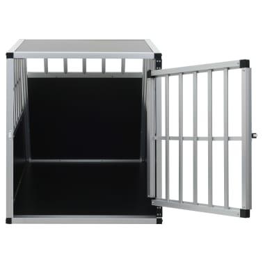 "vidaXL Dog Cage with Single Door 25.6""x35.8""x27.4""[7/11]"