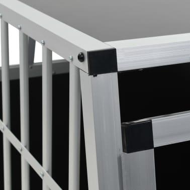 "vidaXL Dog Cage with Single Door 25.6""x35.8""x27.4""[8/11]"