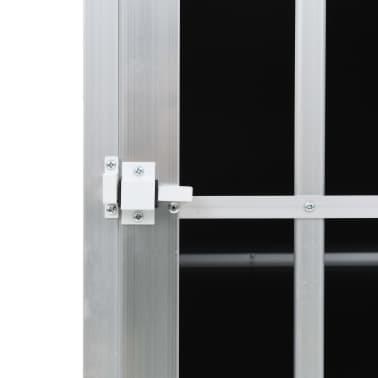 "vidaXL Dog Cage with Single Door 25.6""x35.8""x27.4""[10/11]"