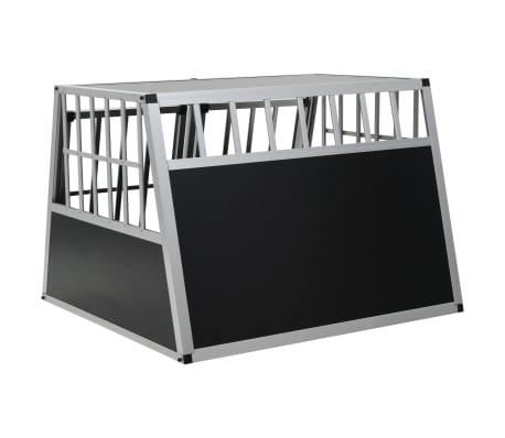 vidaXL Hundetransportbox mit Doppeltür 94 x 88 x 69 cm[5/11]