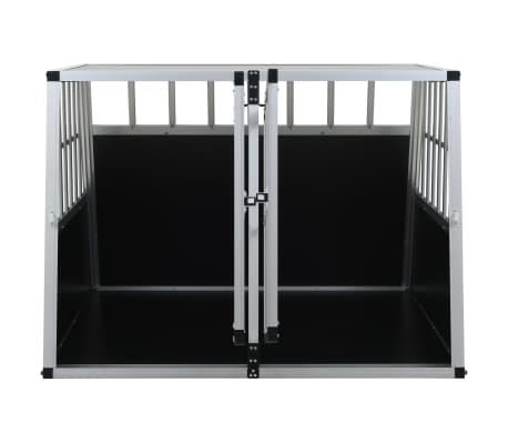 vidaXL Hundetransportbox mit Doppeltür 94 x 88 x 69 cm[7/11]