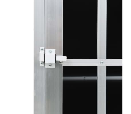 vidaXL Pasji boks z dvojnimi vrati 94x88x69 cm[10/11]