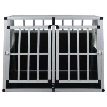 vidaXL Hundetransportbox mit Doppeltür 94 x 88 x 69 cm[3/11]