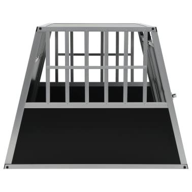 vidaXL Pasji boks z dvojnimi vrati 94x88x69 cm[4/11]