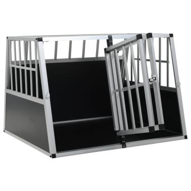 vidaXL Hundetransportbox mit Doppeltür 94 x 88 x 69 cm[6/11]