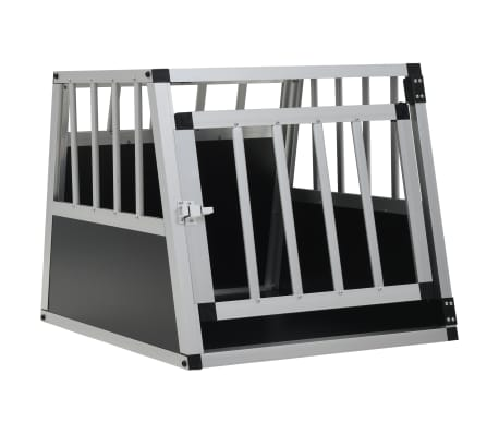 "vidaXL Dog Cage with Single Door 21.3""x27.2""x19.7"""