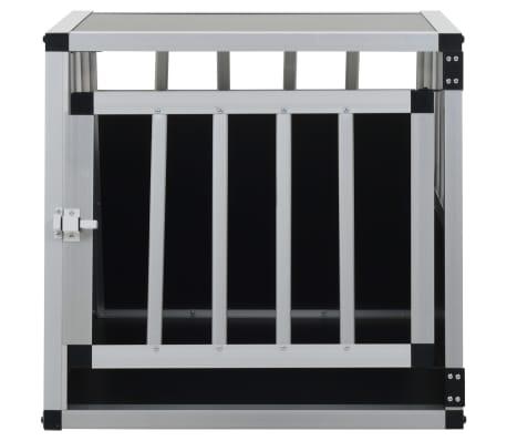 vidaXL Pasji boks z enojnimi vrati 54x69x50 cm[3/11]