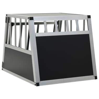 vidaXL Pasji boks z enojnimi vrati 54x69x50 cm[5/11]