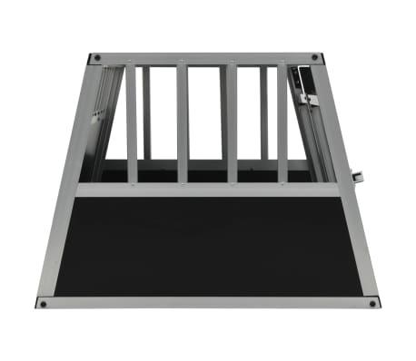 vidaXL Pasji boks z dvojnimi vrati 89x60x50 cm[4/11]
