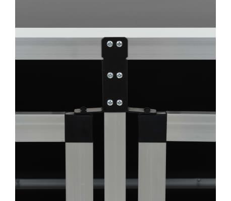 vidaXL Pasji boks z dvojnimi vrati 89x60x50 cm[9/11]