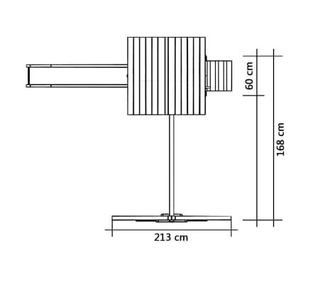 vidaXL Žaidimų aikštelė su čiuožykla, kopėčiomis, sūpynėmis, FSC med.[5/6]