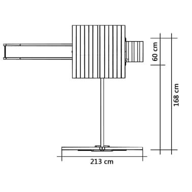 vidaXL Maison de jeu et toboggan échelles balançoire 237x168x218cm FSC[5/6]