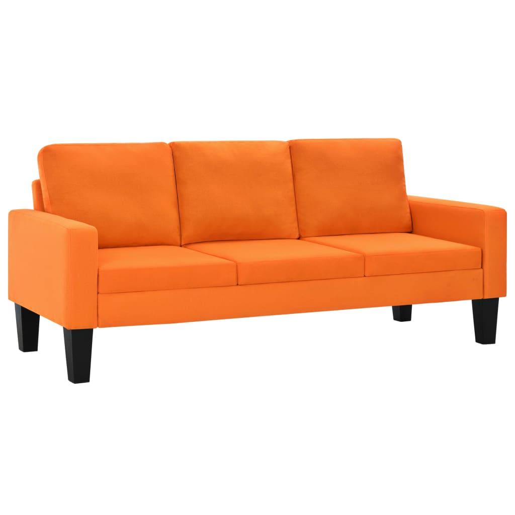 99275454 Sofagarnitur 2-tlg. Stoff Orange
