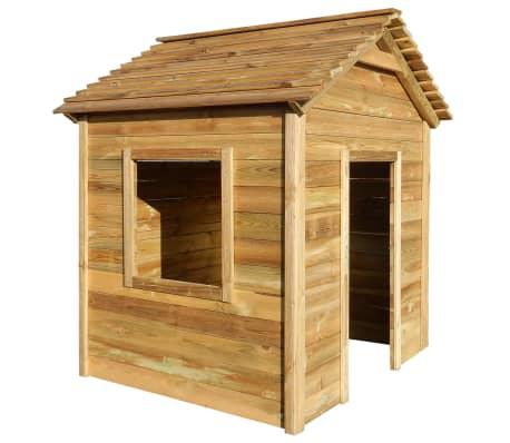 vidaXL Casă de joacă în aer liber, 123 x 120 x 146 cm, lemn de pin