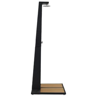 vidaXL Sodo dušas, poliratanas, WPC[2/6]