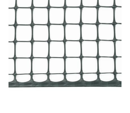 vidaXL Mailles de clôture de jardin 5 pcs PEHD 1x1,2 m Vert[4/6]